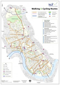Hammersmith and Fulham Walking and Cycling Map 2006