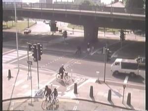 Bridge Road crossings under Hammersmith Flyover